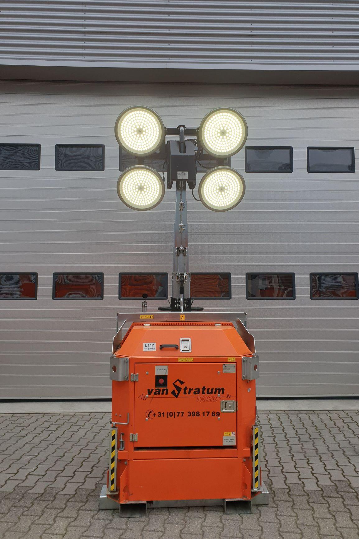 Cube mit LED-lampen